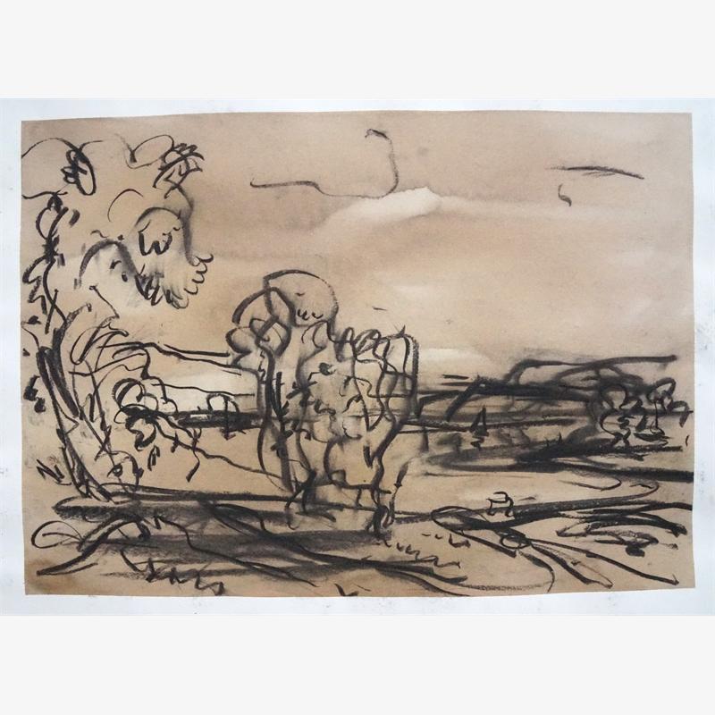 Landscape Sketch, 2019
