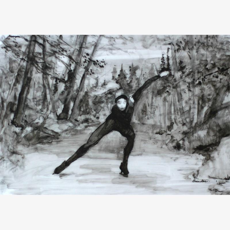 Night Speed Skating
