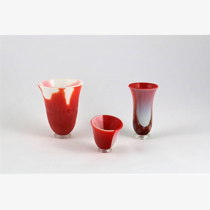 Vase Set- Passion (3 Pieces), 2018