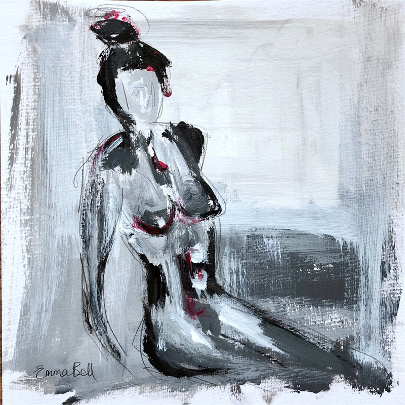 Black & White Lady III, 2018