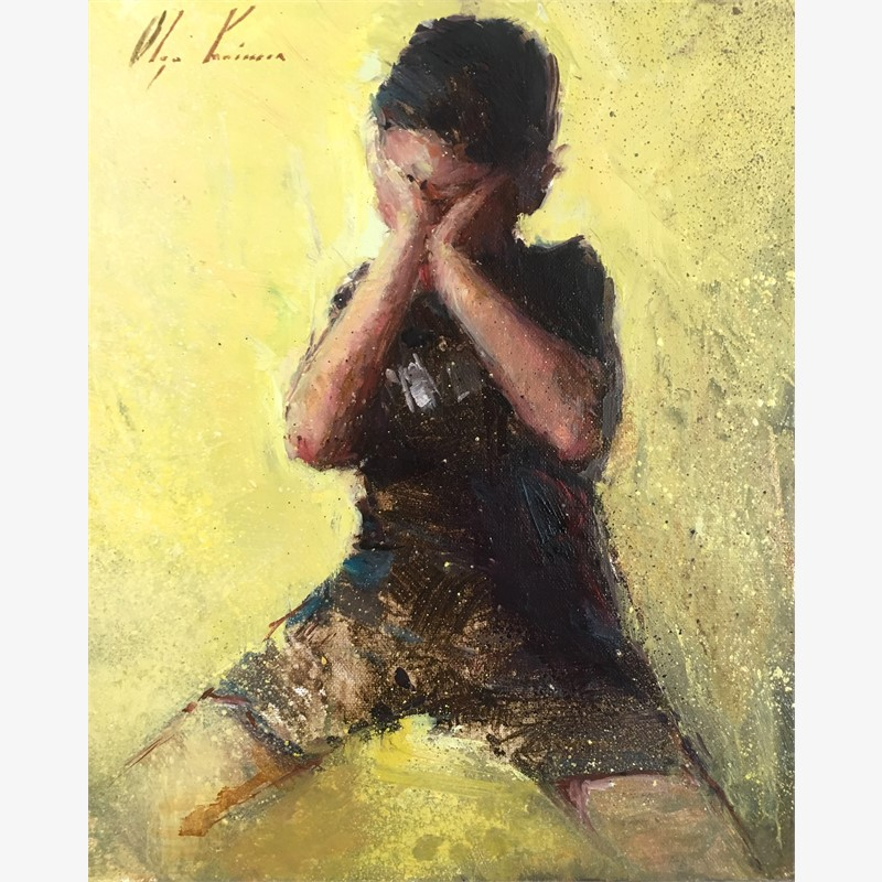 Boy on Yellow, 2018