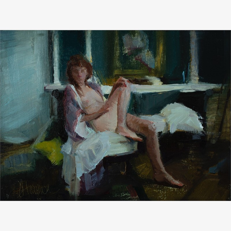 Seated Muse, 2018