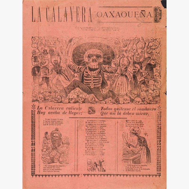 La Calavera Oaxaqueña, 1907