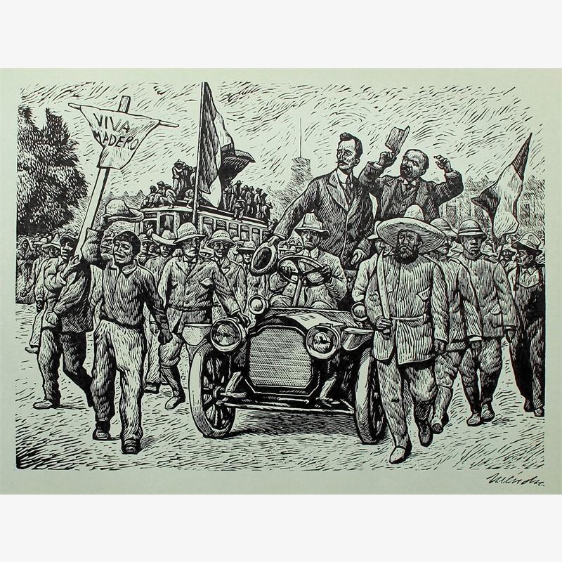 La Entrada de Francisco I. Madero en la Ciudad de México. 7 de Junio de 1911., 1960