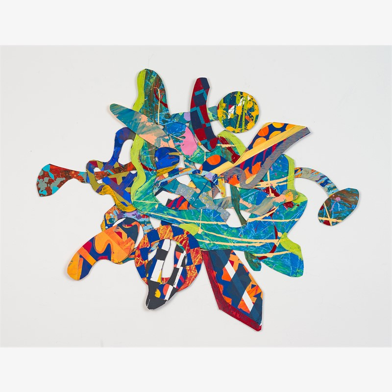 Danci with Color II, 2018