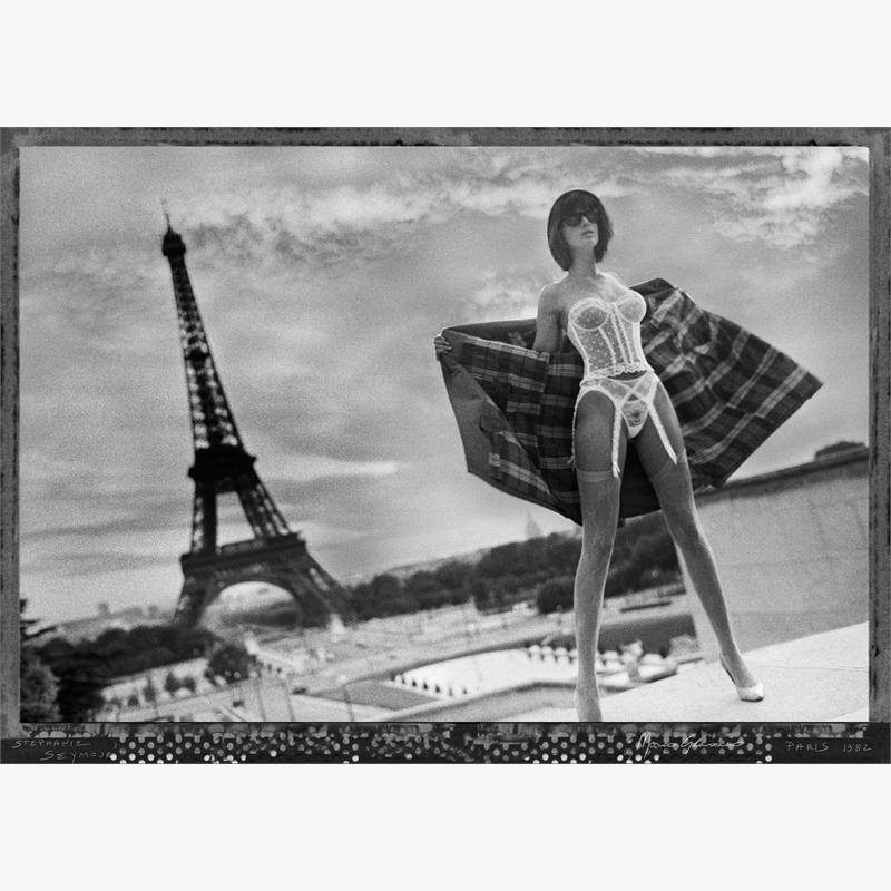 Stephanie Seymour, Paris (1/7), 1982