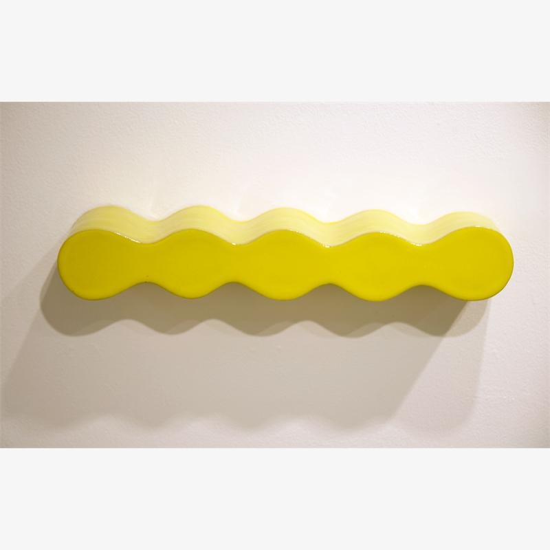 Infinity Shelf in Lemon, 2019