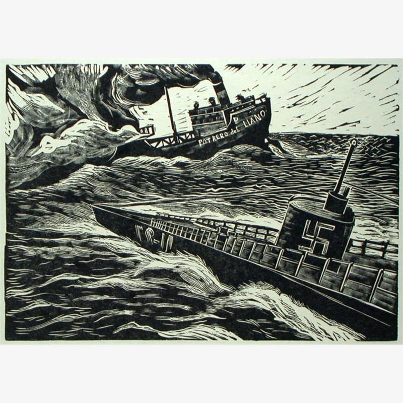 """El Hundimiento del """"Potrero del Llano"""" por los Nazis, en Mayo de 1942, 1960"""