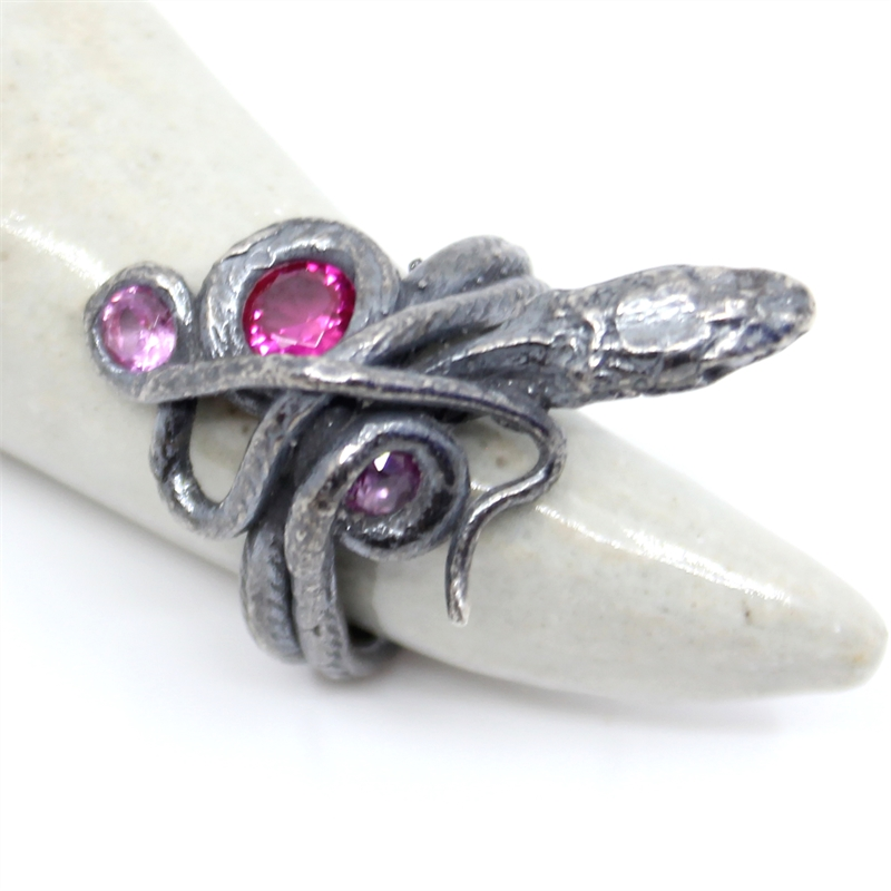 Ruby Serpentine Ring, 2019