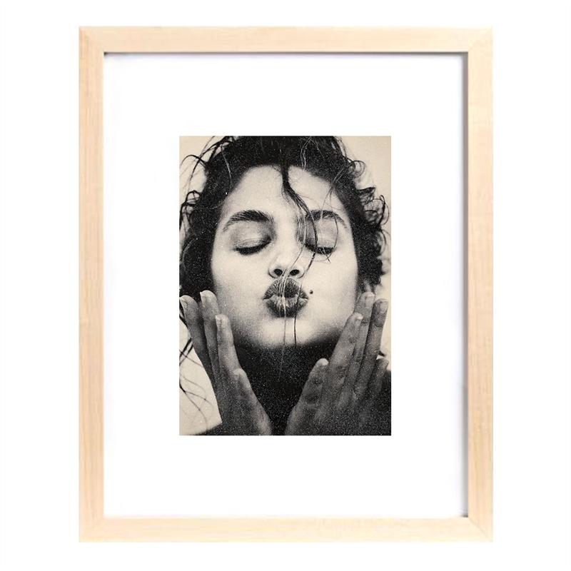 Cindy Kiss (Black & White) (1/25), 1991