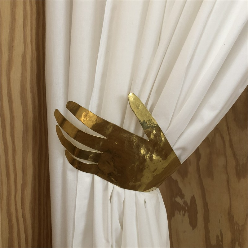 """Hand"" Curtain Tieback  by Jacques Jarrige"