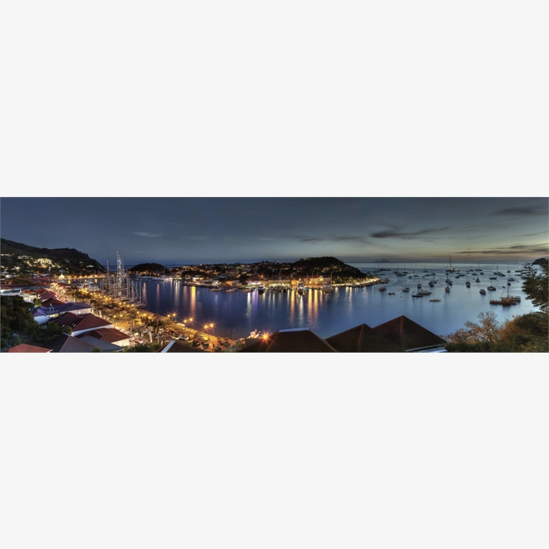 Gustavia Night by Christian Voigt