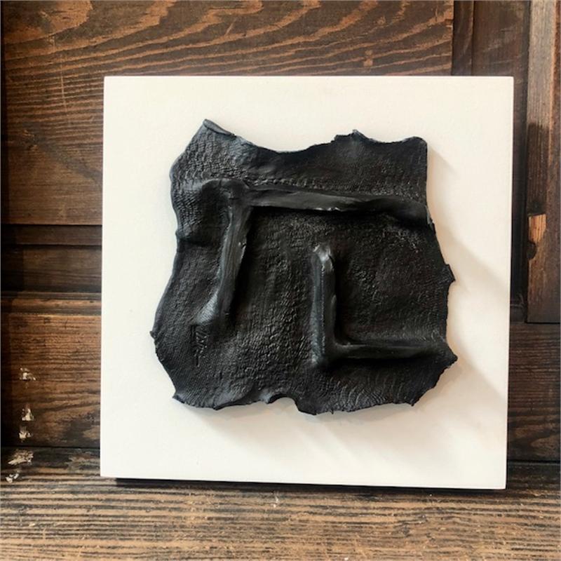 Unframed Black on White Artifact 1, 2019
