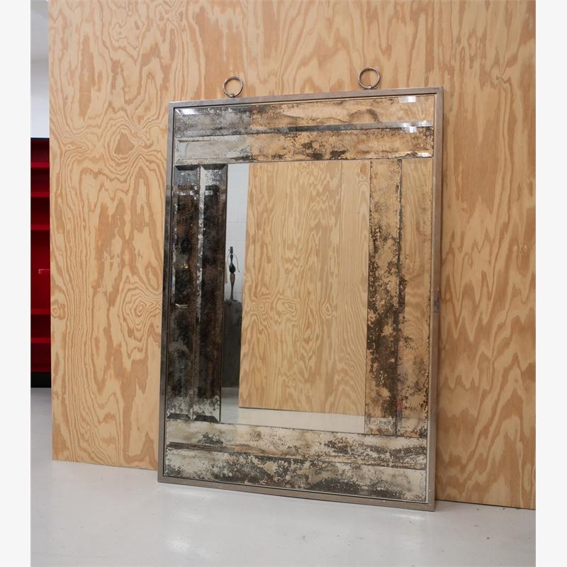 Antique mirror framed Mirror, 2019