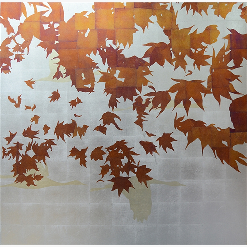Disappearing Into Autumn (right) - SOLD, 2018