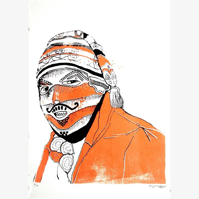 Masked Man (6/10), 2019