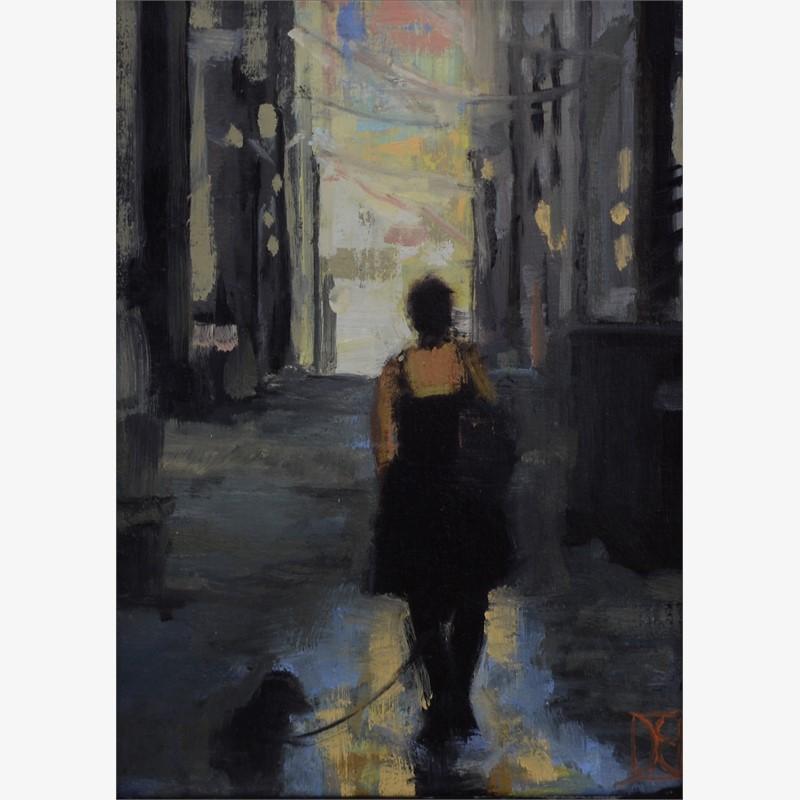 Jen in Alley, 2018
