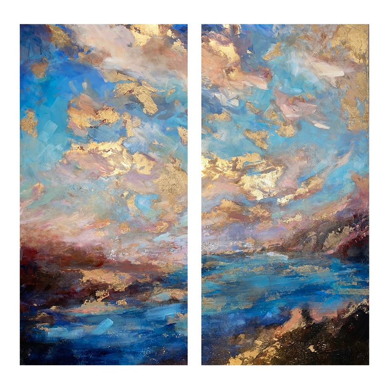 Due West [diptych], 2020