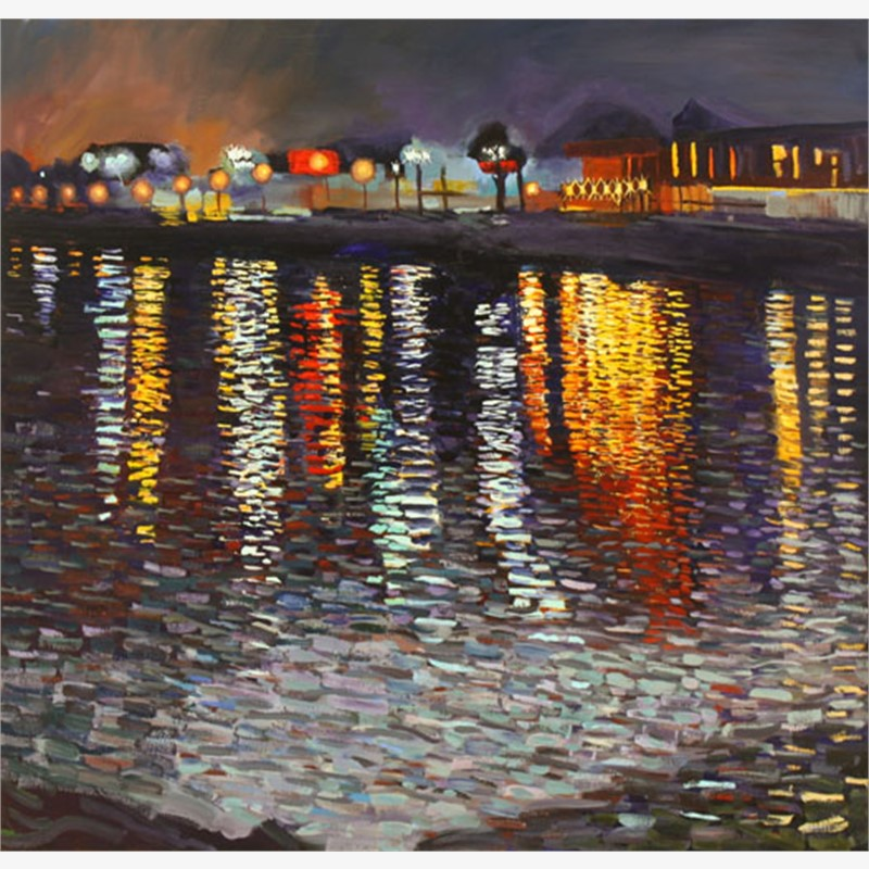 Lights on the Water #2, 2018