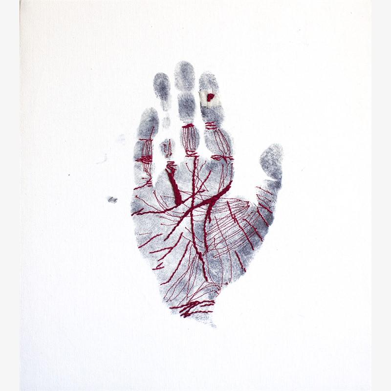 Clue: Handprint