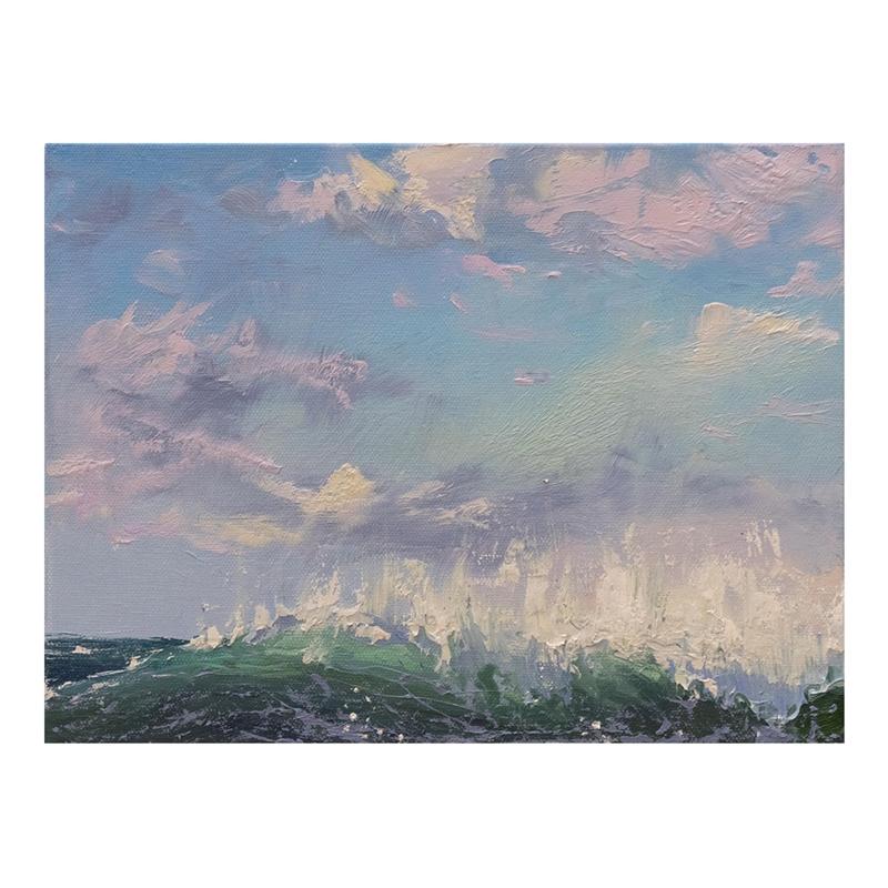 Coastal Breeze I by Annie Wildey