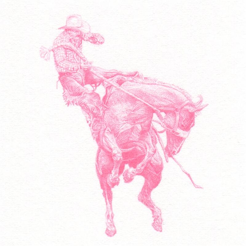 Untitled (Bronc Rider AOP-3757), 2020