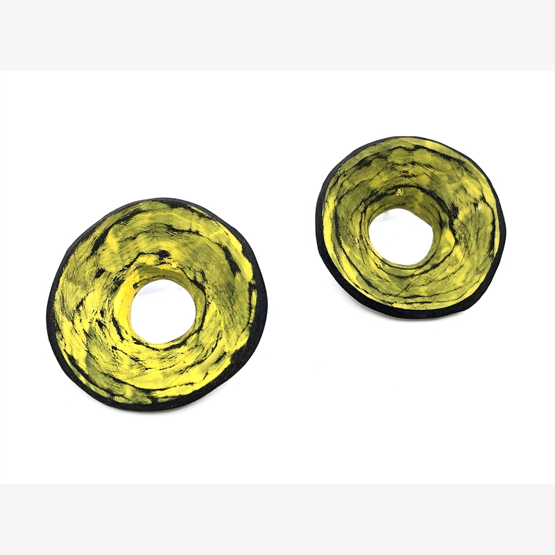 Disc Earrings, 2018