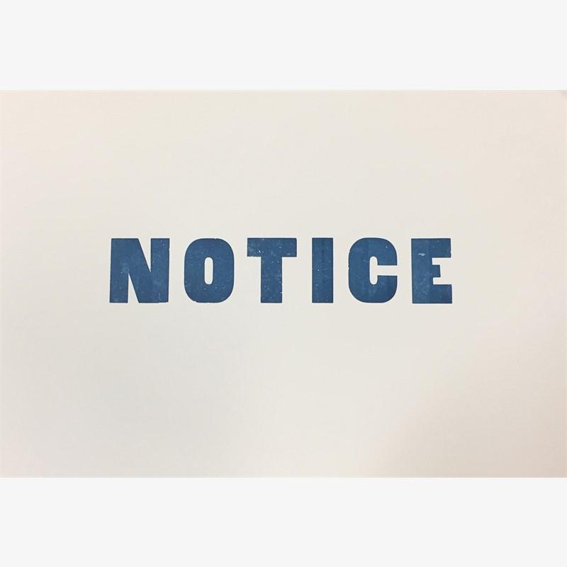 Notice, 2017