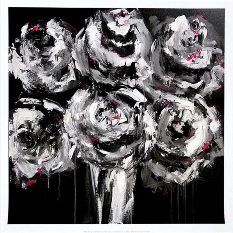 White Roses Print 3, 2019