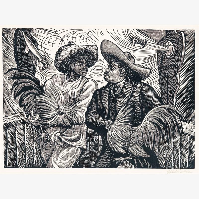 Dos Galleros, ca. 1940