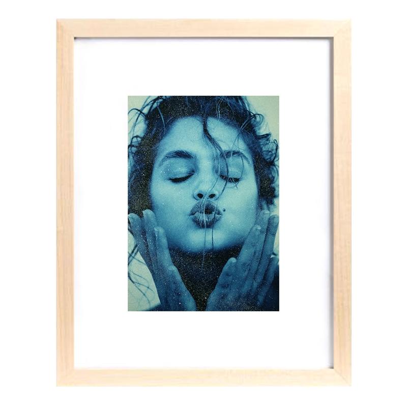 Cindy Kiss (Light Blue) (1/25), 1991