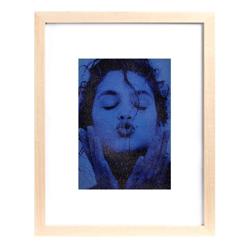 Cindy Kiss (Blue) (1/25), 1991