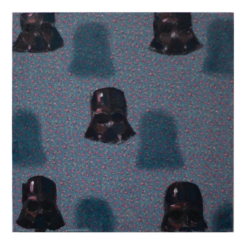 Vaders on pattern by Dan Pelonis