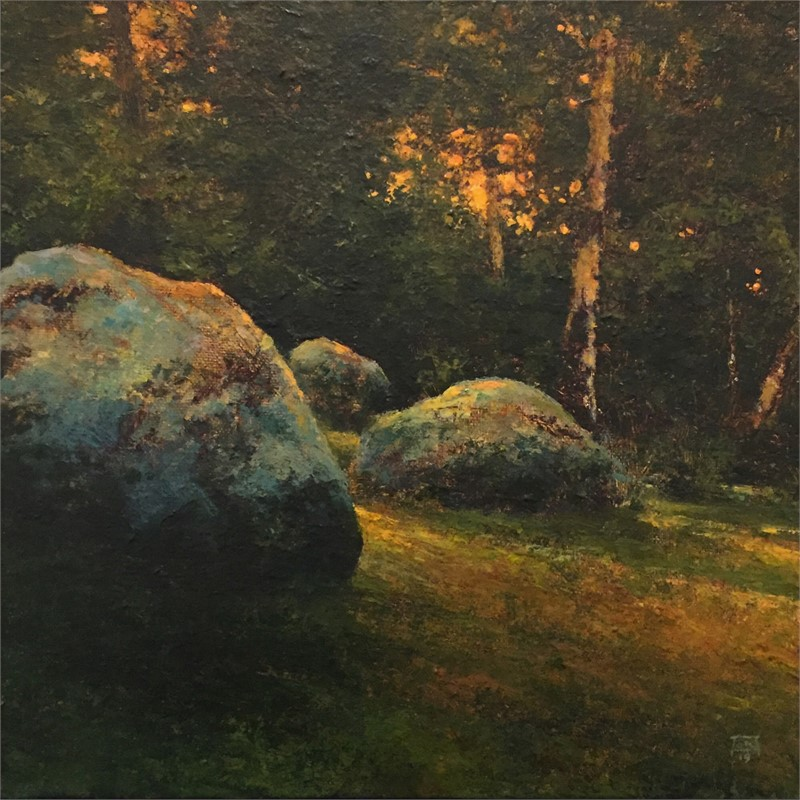 Field and Stone Study 2, 2019