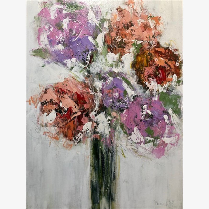 Lilac & Blush Roses, 2019