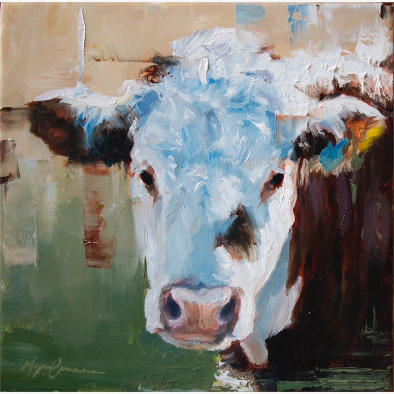 Cow Portrait I, 2019