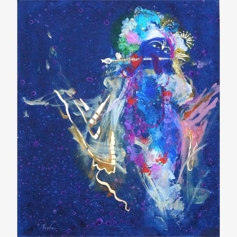 Krishna's Golden Flute 2 (2/7), 2017