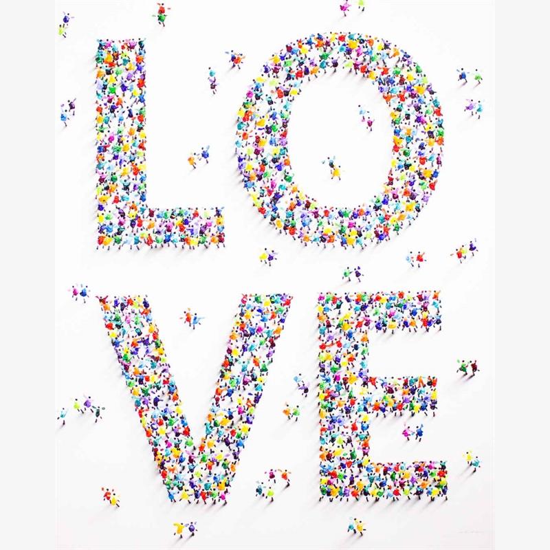 LOVE Fills Me