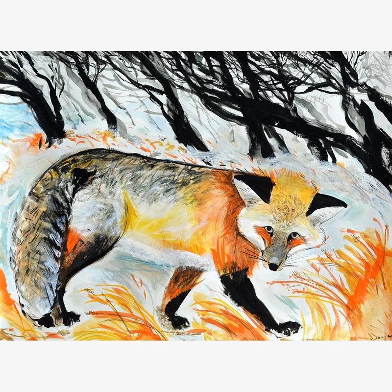 Fox in Winter, 2020