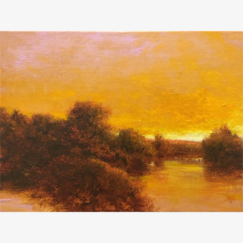 Golden Evening, Grand River