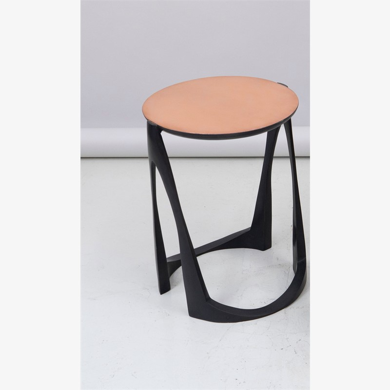 Side table in bronze , 2018