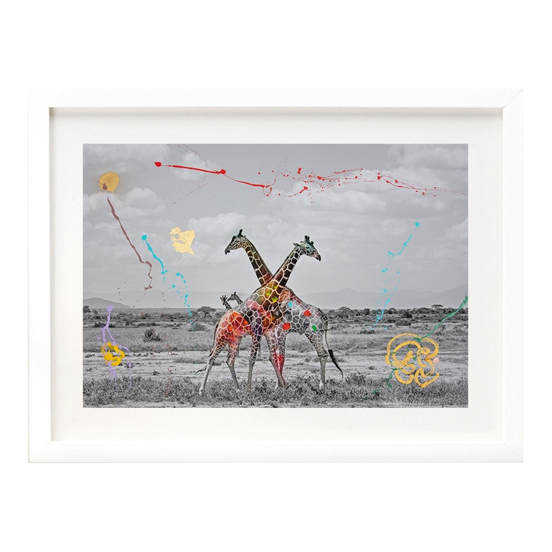 Giraffe Duet  by Arno Elias