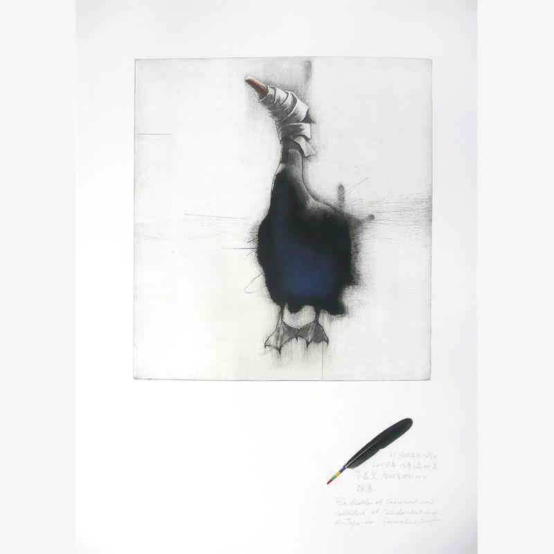 A Blind Bird: Cormorant (2/10)