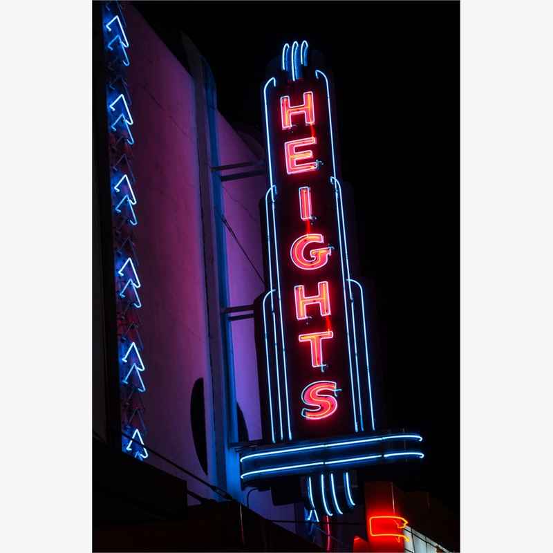 Heights Theatre No. 1 by James C. Ritchie