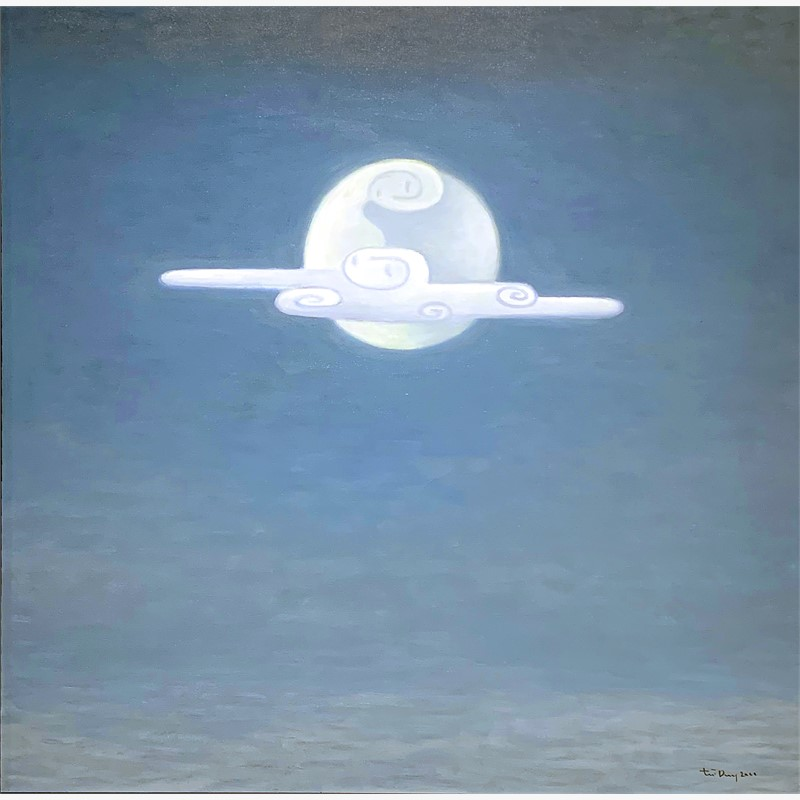 Moon and Cloud, 2001
