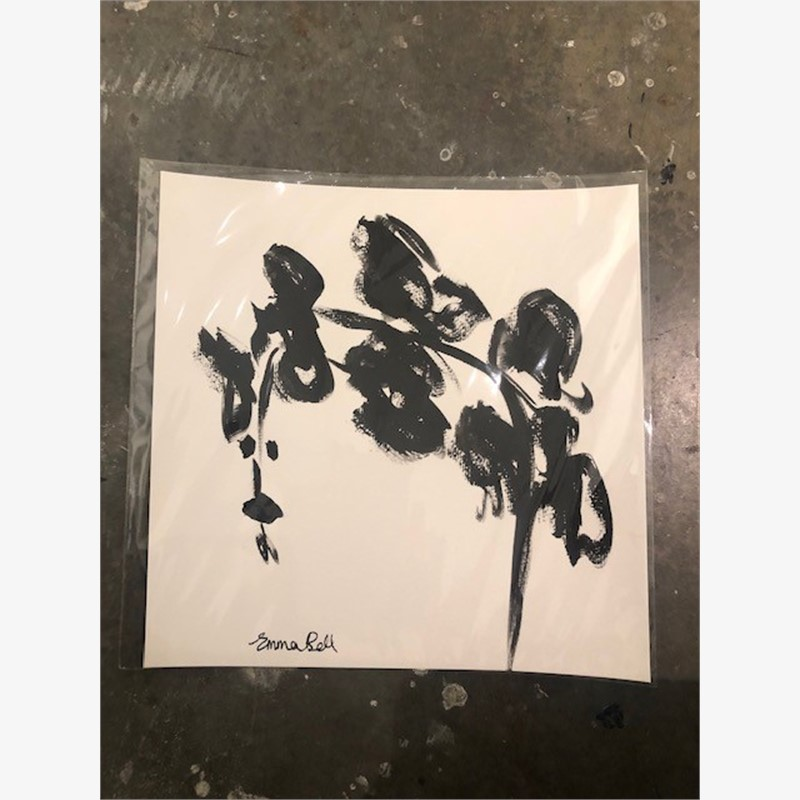Black & White Orchids II, 2018