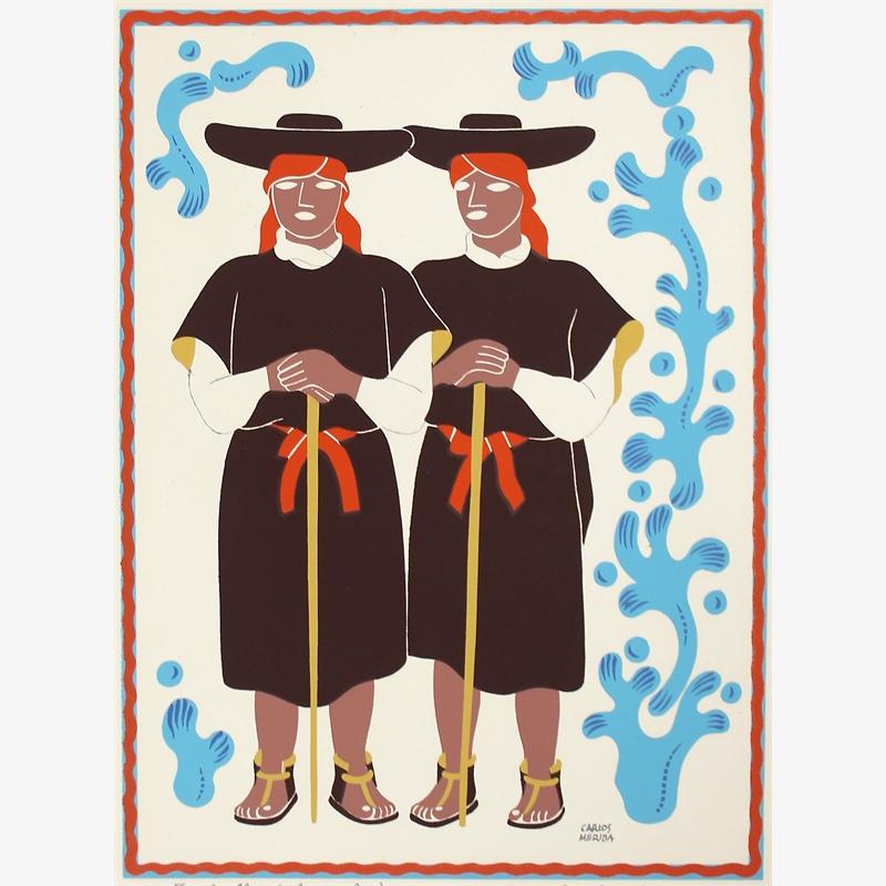 Tzoltziles (Chamulas), Estado de Chiapas, 1945