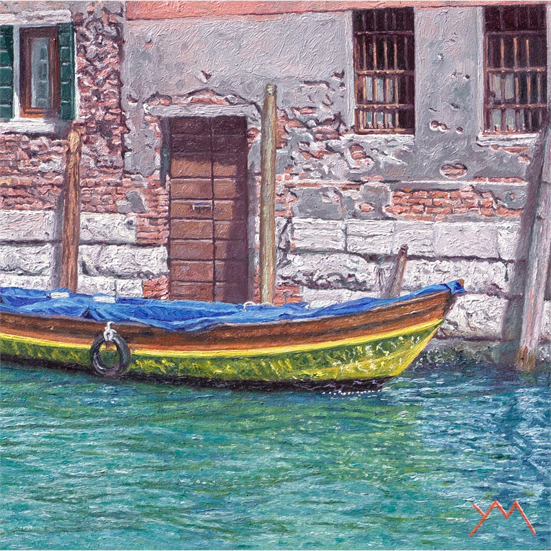 Reflections III (Spring in Venice) by Yvonne Melchers