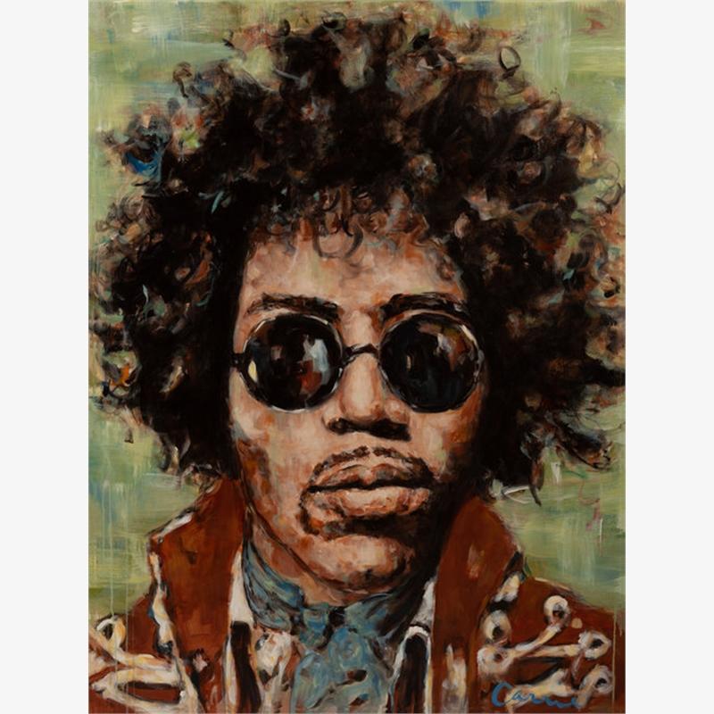 Hendrix 12x16 Print 1, 2019