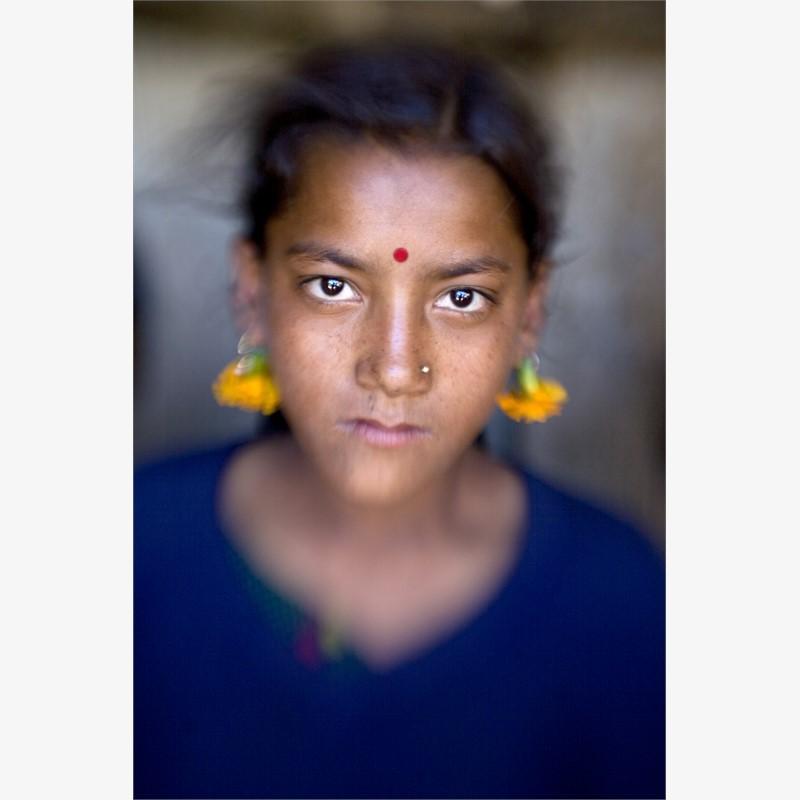Marigold Girl, Humla Region, Nepal, 2019